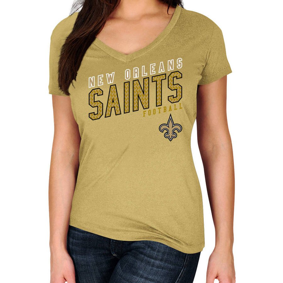 NFL New Orleans Saints Plus Size Women's Basic Tee