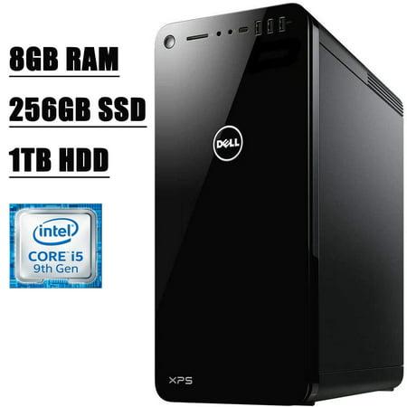 Flagship Dell XPS 8930 Desktop Computer I 9th Gen Intel Hexa-Core i5-9400 I 8GB DDR4 256GB SSD 1TB HDD I 4GB GeForce GTX 1650HDMI USB-C WiFi Bluetooth 4.2 Win 10