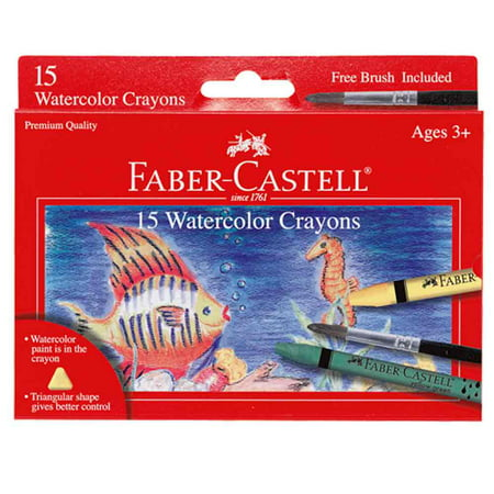 Watercolor Crayon - Watercolor Crayons - 15 ct.