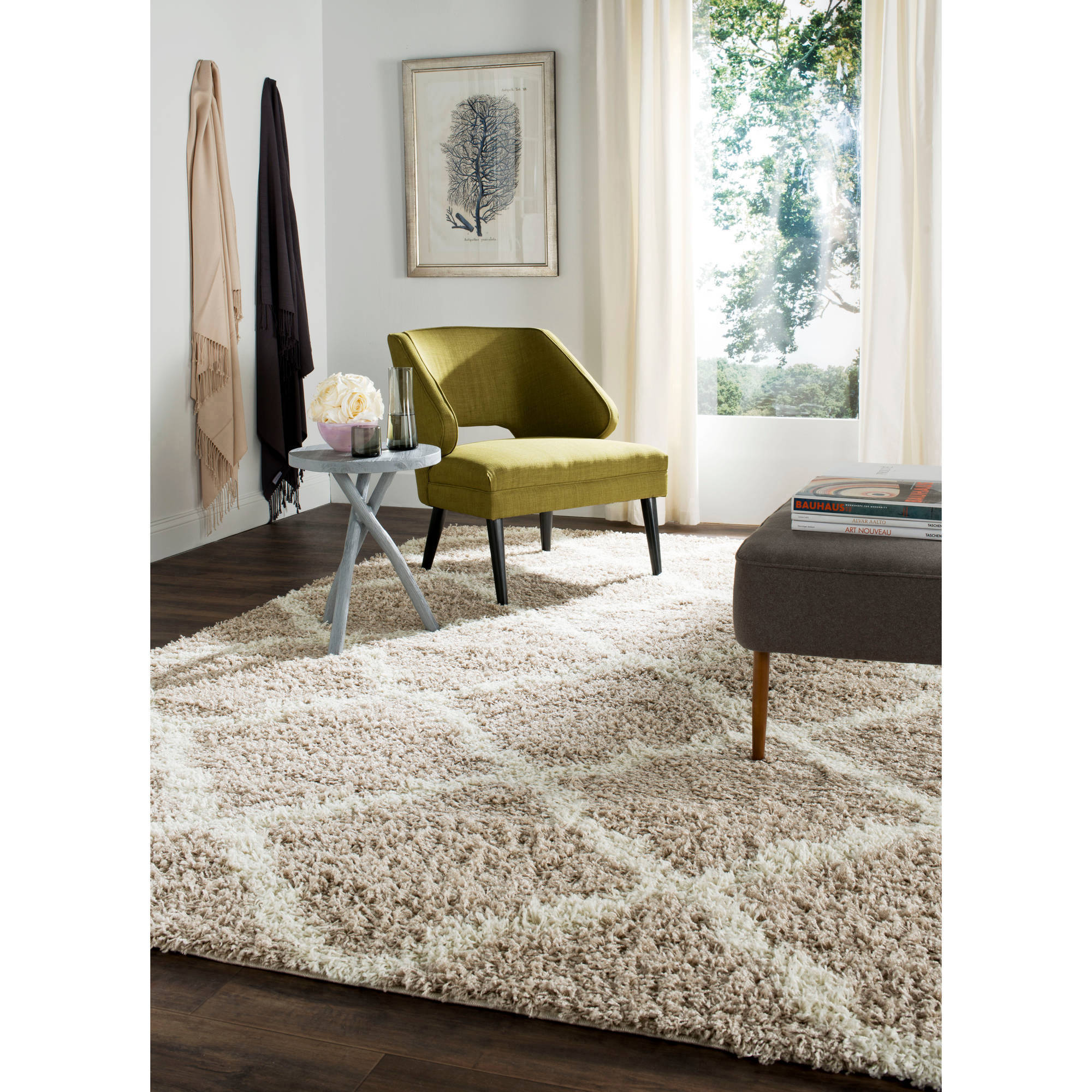 Safavieh Daley Power-Loomed Shag Area Rug or Runner