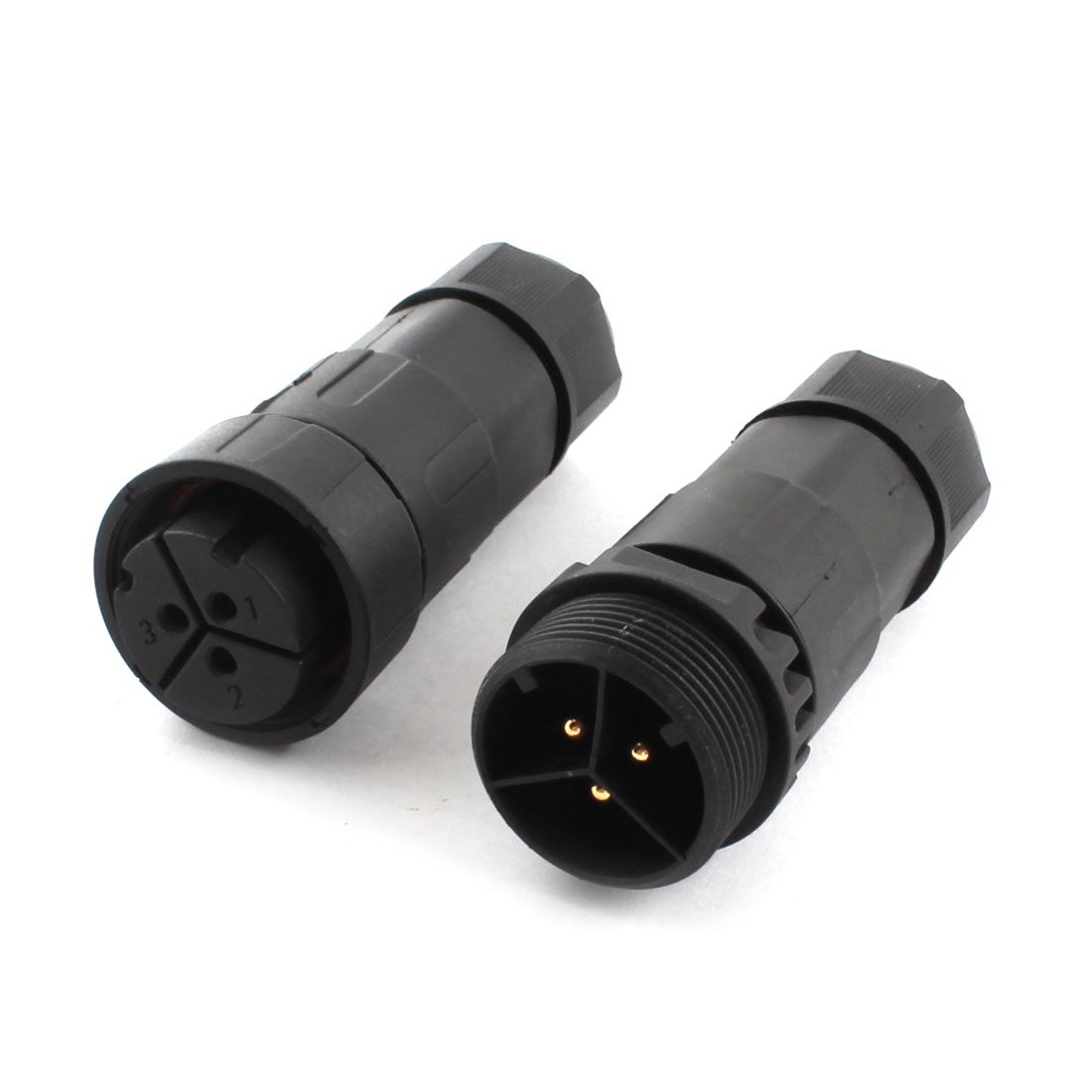 500V 25A Solar Panel Cable Wire 3 Pin Waterproof Connector M29