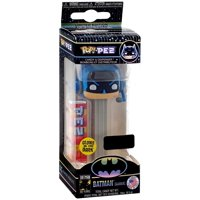 DC Funko POP! PEZ Batman Candy Dispenser [Gamer, Gray, Glow-in-the-Dark]