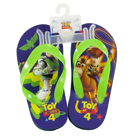Disney Pixar Toy Story 4 Kids Flip Flops Sandals (2 Colors Many Sizes) Kids Flip Flop