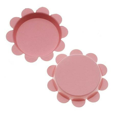 New Light Pink Flower Bottle Caps Craft Scrapbook Jewelry No Liners 25mm (24) Scrapbooking Bottle Cap