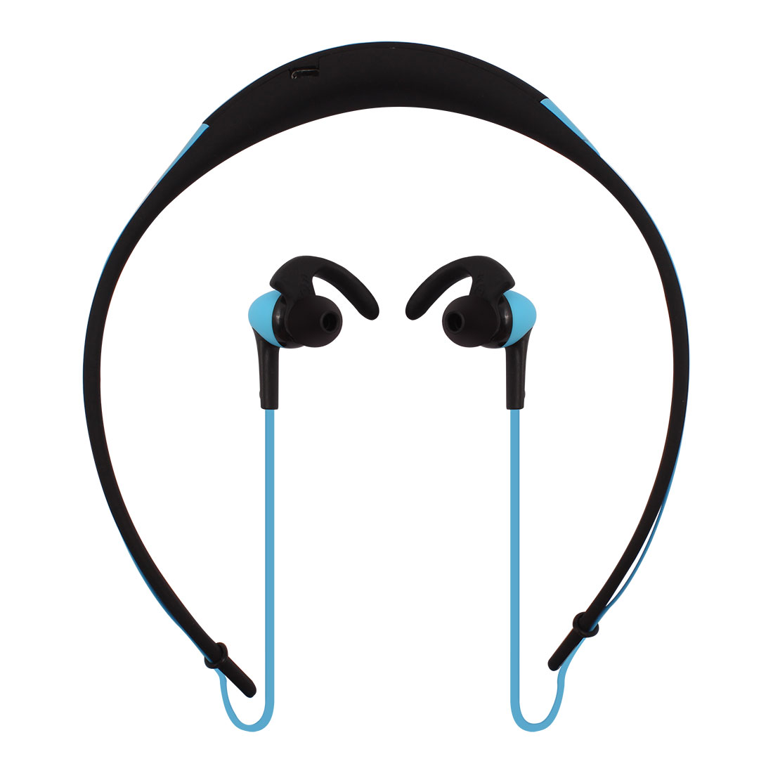 Sports bluetooth 4.1 Wireless Stereo Handfree Neckband Type Earphone Earbud Blue
