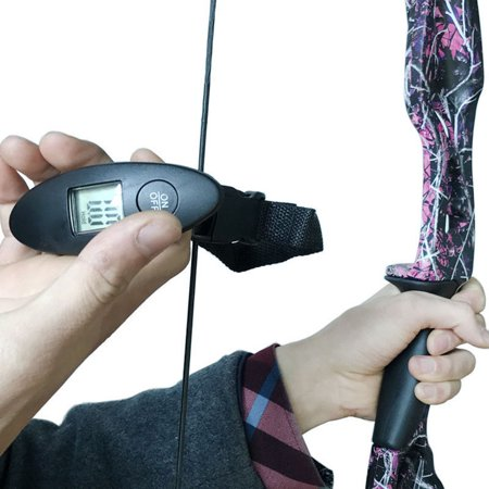 Archery Digital Hanging Bow Scale 88lbs Black for Recurve Compound Bow thumbnail