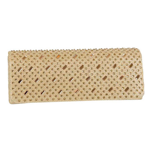 Women's J. Furmani 61054 Studded Flap Clutch