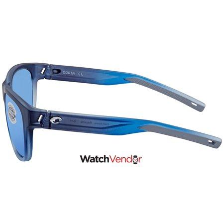 12cadec37269a Costa Del Mar Bayside Medium Blue Mirror Sunglasses BAY 193 OBMGLP - image  1 of 3 ...