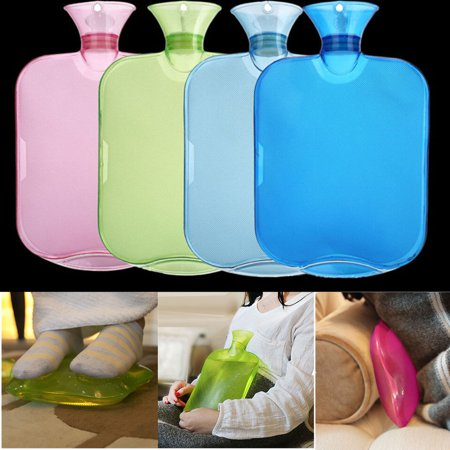 Beautiful Water-filling Hot Water Bottle With Plastic Plug Prevents Leaks Pvc And Plush Hot Water Bag Hand Warming Winter Bags Home Appliances