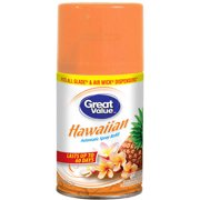 Great Value Hawaiian Automatic Spray Air Freshener Refill, 6.17 oz