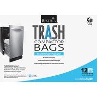BestAir Trash Compactor Bags, 12 Bags (Heavy Duty)