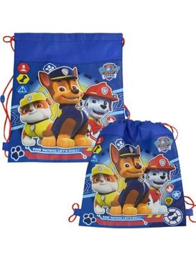 "Paw Patrol ""Eco Friendly"" Non Woven Sling Bag with Hangtag- 6 PACK"