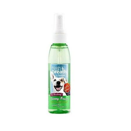 Fresh Breath for Dogs 4 oz Dental Oral Care Spray Healthy Gums - Choose Scent (Berry Fresh) Breath Fresh Spray