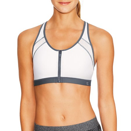 3b58abfa26abe Champion - Womens Zip Sports Bra - Walmart.com