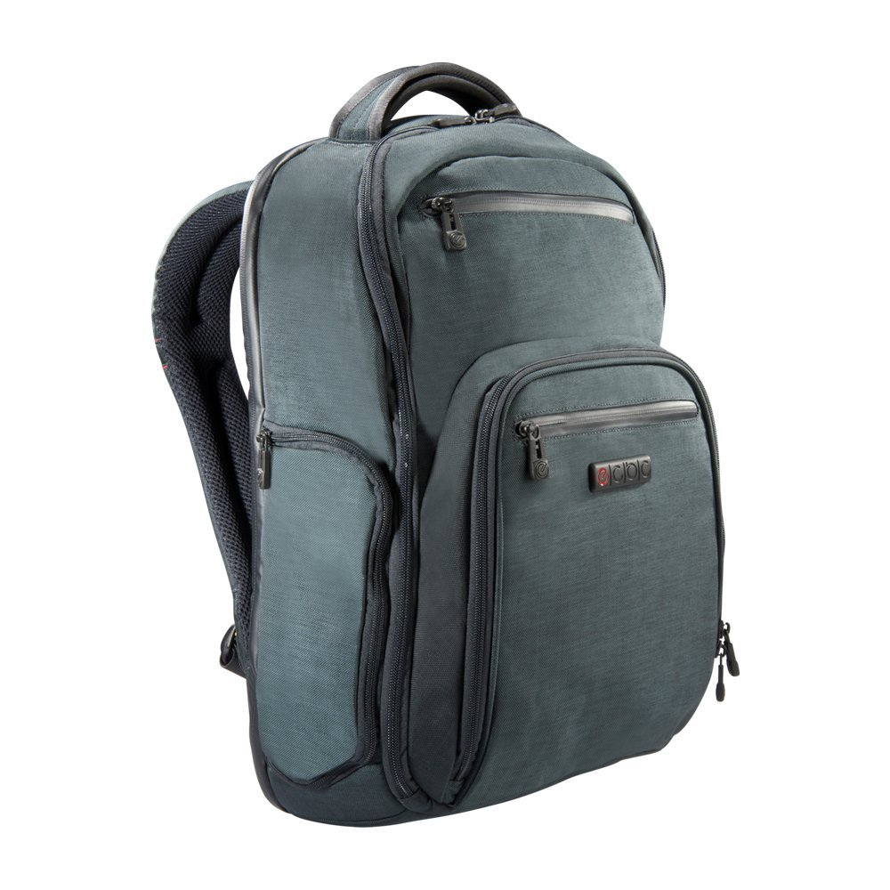 ECBC Hercules K7102-10 Green Backpack Security Fast Pass for up to 17 Laptops
