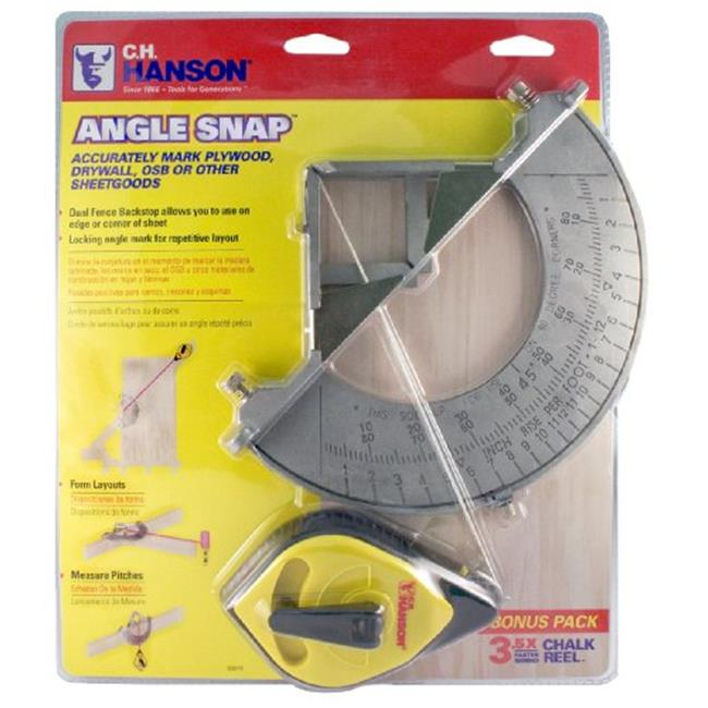 CH Hanson 03070 Angle Snap, Pack Of 6