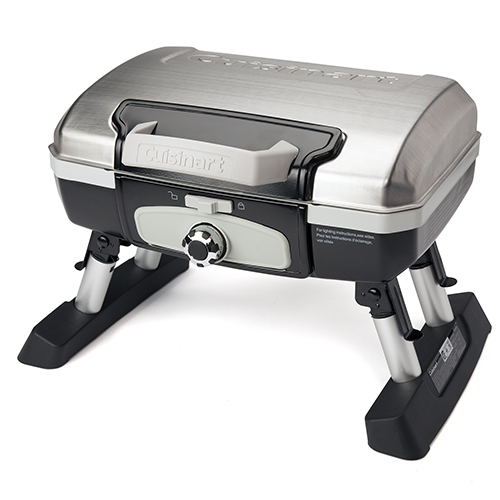 Petit Gourmet Tabletop Gas Grill Stainless