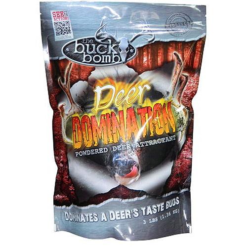 Buck Bomb Deer Domination-3lb Bag Supplemental Deer Feed Mix thumbnail