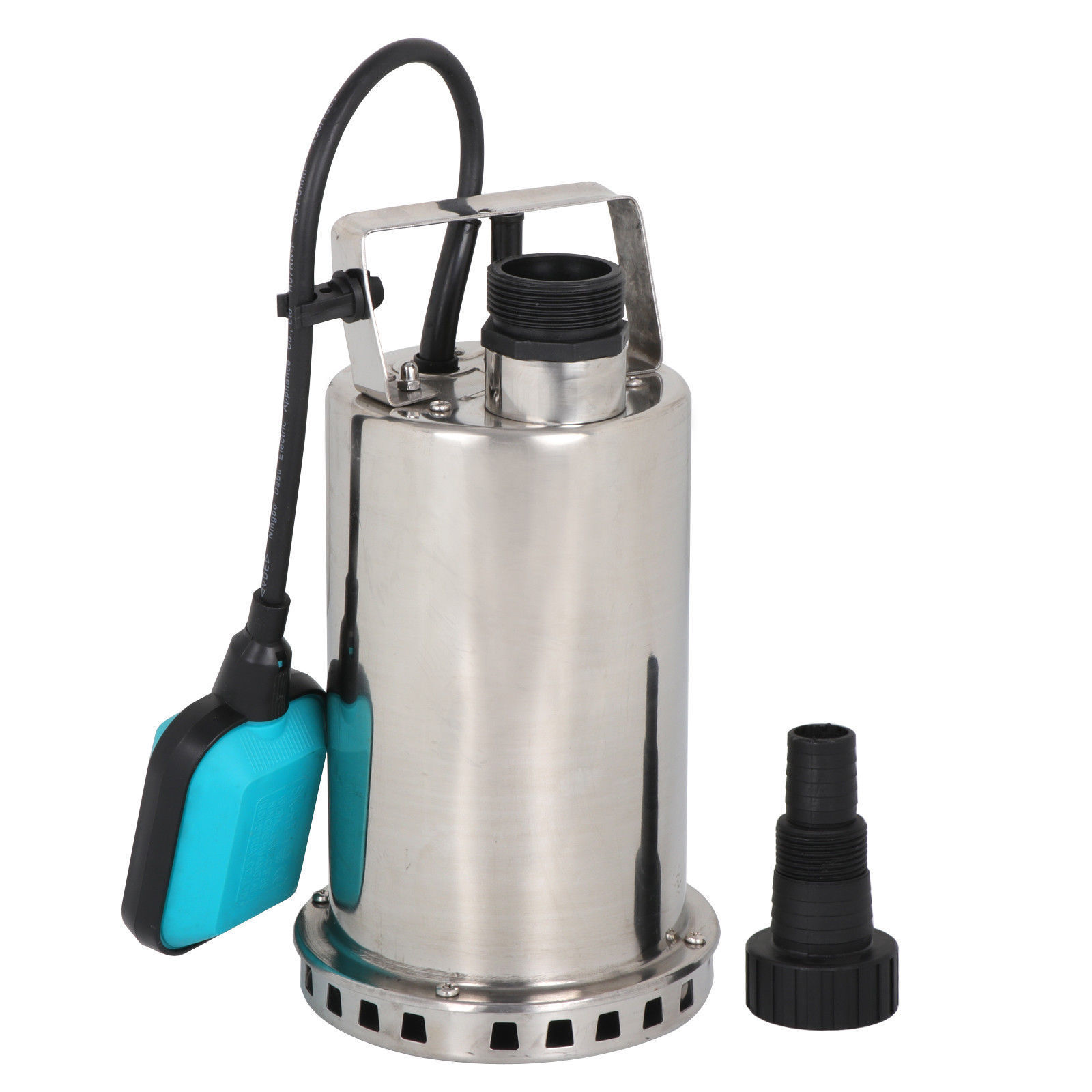 Zeny 1 HP Stainless Steel Submersible Sump Pump Dirty Clean Water Pump w/ 26ft Cable and Float Switch