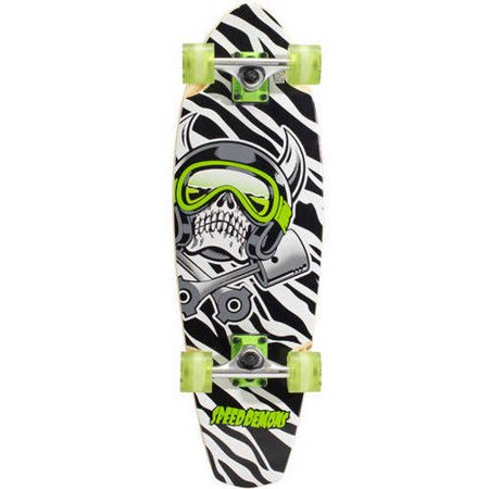 "Finish Line Free Shipping Trick >> Speed Demons 29"" Cruiser Board Complete Skateboard, 29"" x 9"" - Walmart.com"