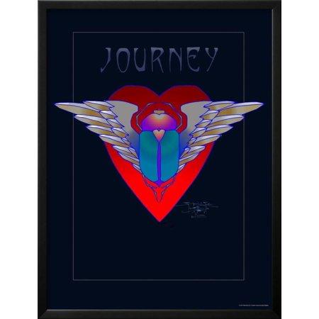 Journey Framed - Journey Framed Poster Wall Art