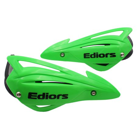 Ediors ATV Hand guards for snowmobile motorcycle mx Honda Yamaha KTM Suzuki Polaris (Green)