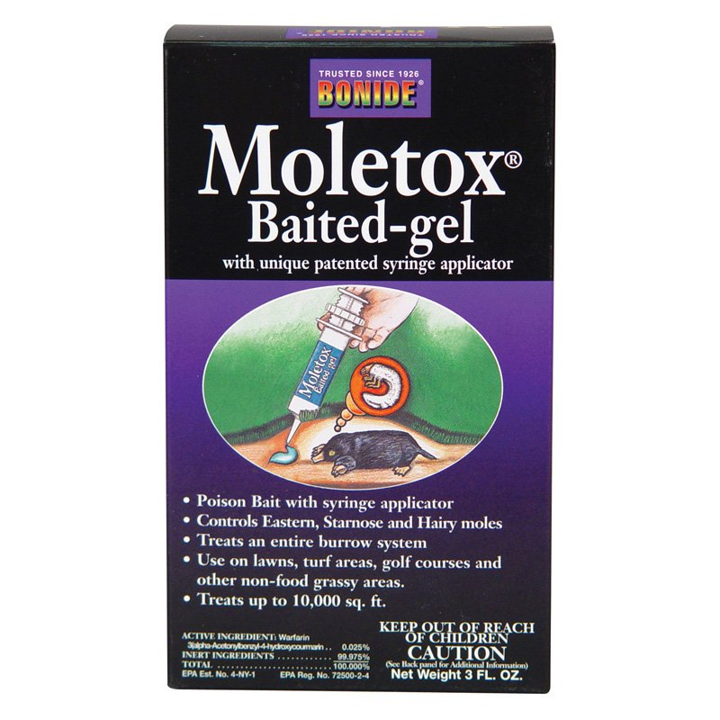 Moletox Baited Gel Mole Killer