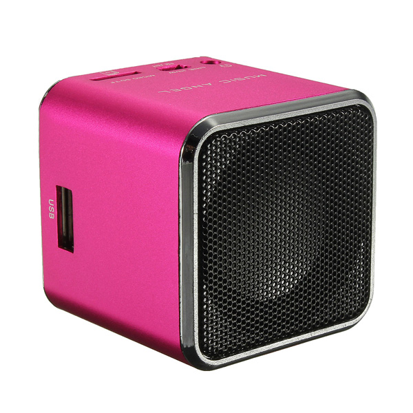 Portable Mini Digital Speaker SD TF Card Micro USB Stereo MP3/4 Cellphone Music Audio Player Christmas Gift