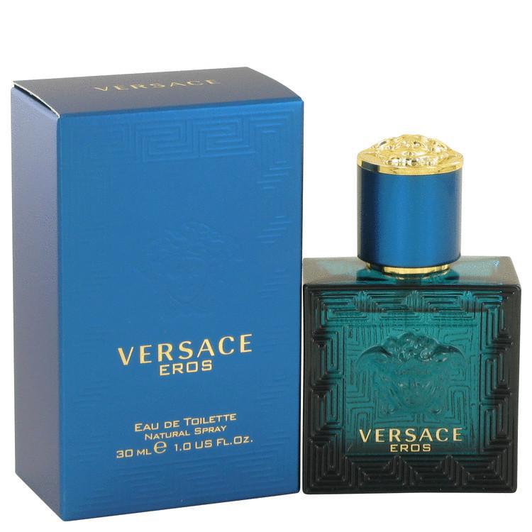 Versace Eros by Versace Eau De Toilette Spray 1 oz for Men