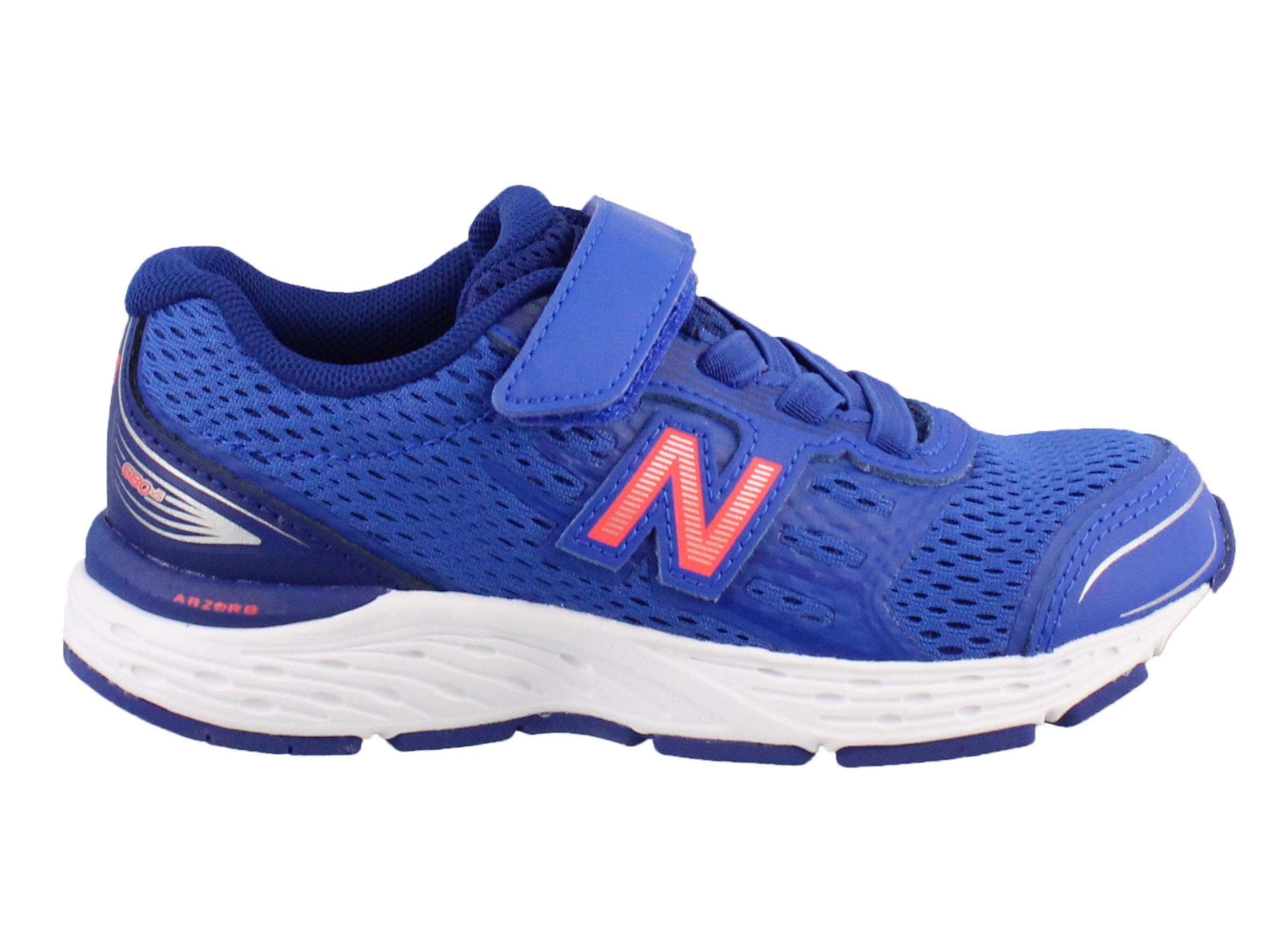 5174aaacfd21f ... wide running shoes size f39bb 74425; switzerland new balance girls  ka680pdy low top lace up running sneaker blue size 7 kids walmart