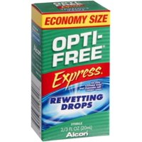 OPTI-FREE EXPRESS Rewetting Drops 20 mL (Pack of 2)