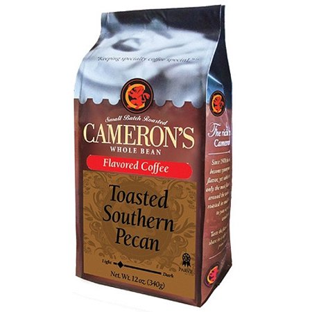 - Cameron's Specialty Coffee Toasted Southern Pecan Whole Bean, 12oz