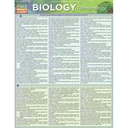 BarCharts 9781423221517 Biology Terminology Quickstudy Easel