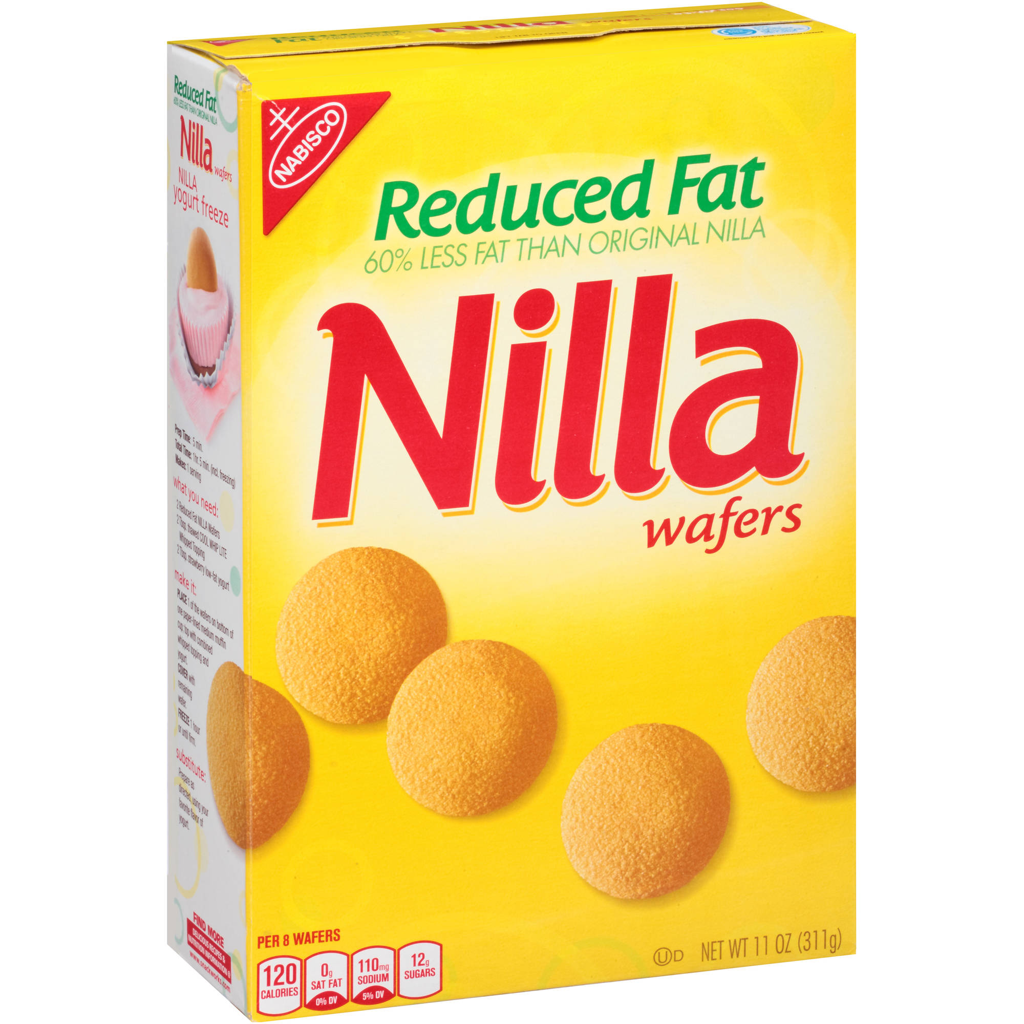 Nabisco Reduced Fat Nilla Wafers, 11 oz