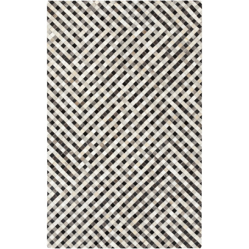 17 Stories Cassidy Hand-Crafted Beige Area Rug