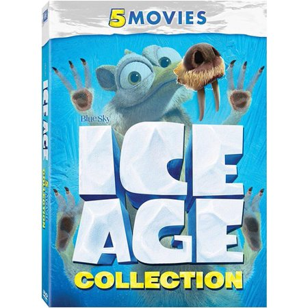 Halloween Movies For Families To Watch (Ice Age Collection (5 Movies))