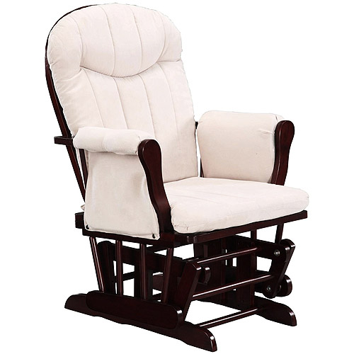 dorel glider rocker cherry