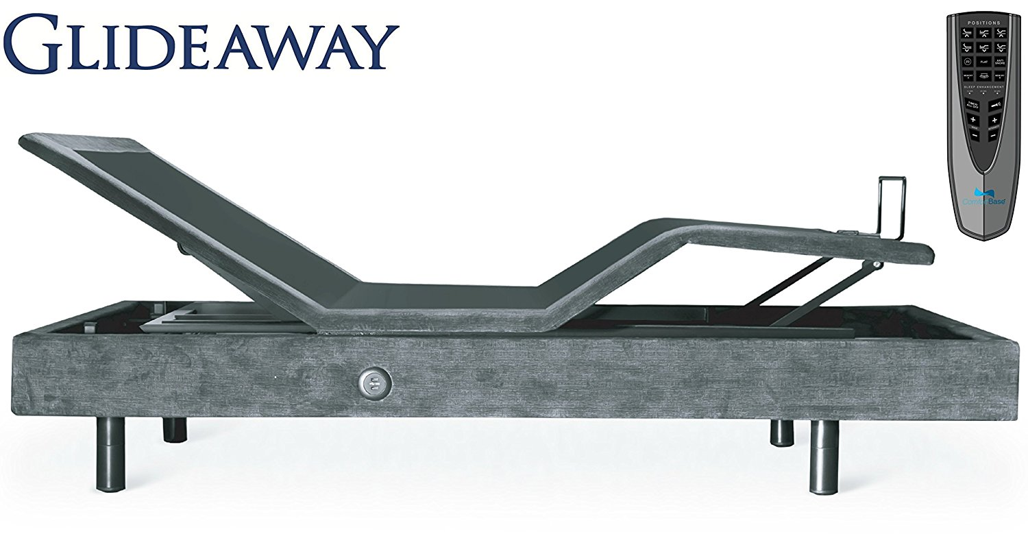 GLIDEAWAY NAVIGATE 2.0 ADJUSTABLE BED** FURNITURE STYLE WITH MASSAGE