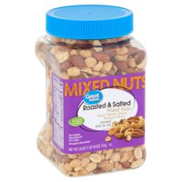 Great Value Roasted & Salted Mixed Nuts, 26 oz