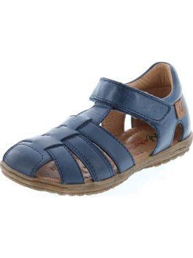 Naturino Boys See Closed Toe and Closed Back Leather Fisherman Sandals