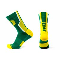 Oregon Ducks Green Sport Performance Sock
