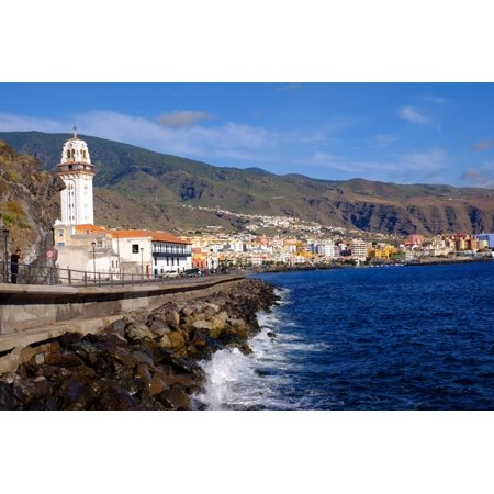 City of Candelaria in the Eastern Part of the Island of Tenerife, Canary Islands, Spain, Europe Print Wall Art By Carlo