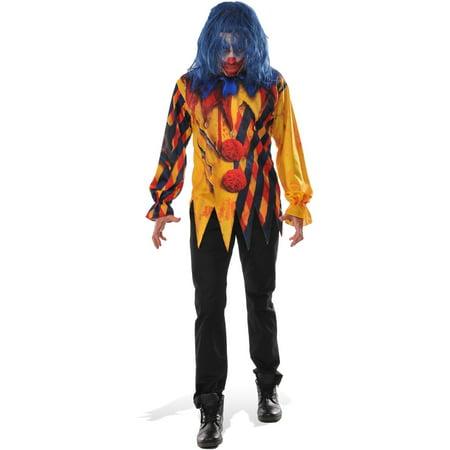 Mens Killer Clown Shirt - Mean Clown Faces