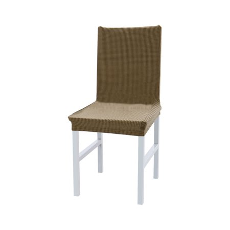 Polyester Spandex Chair Covers Slipcovers Protector for Hotel Corn Striped - Stripe Polyester Cover