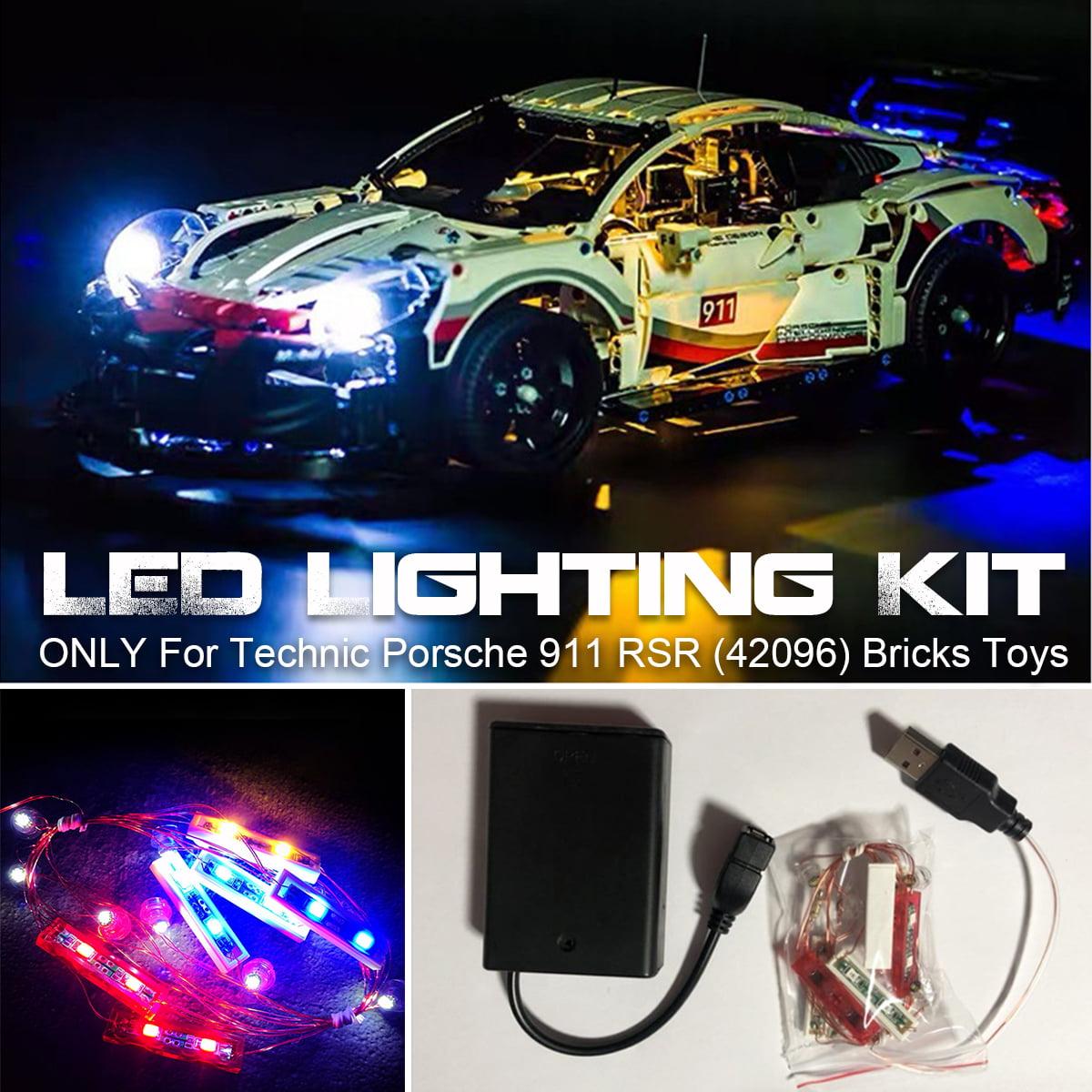 LED Light String For Lego 42096 Technic For Porsche 911 RSR Bricks Toy Plastic