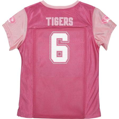Russell NCAA Missouri Tigers, Girls Short Sleeve V-Neck Replica Jersey