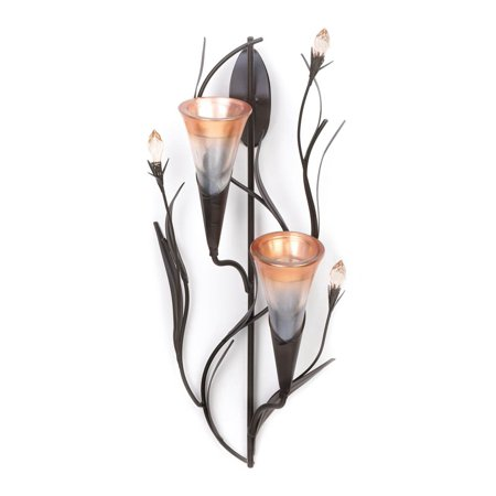 Wall Candle Sconce, Antique Wall Sconce Glass Candle Holder