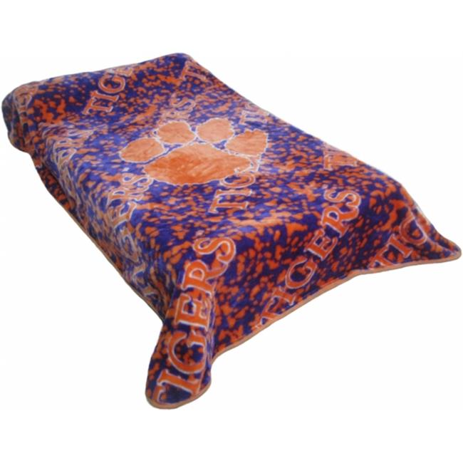 College Covers CLETH ClemsonThrow Blanket - Bedspread