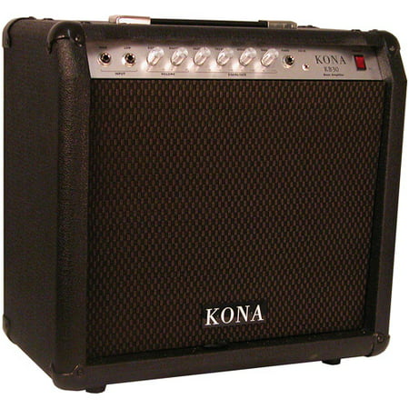 kona 30 watt bass guitar amplifier