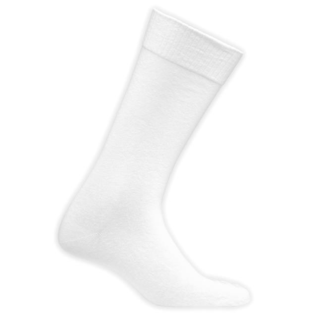 Mens Crew Diabetic Socks, Black - Pack of 3 - image 1 of 1